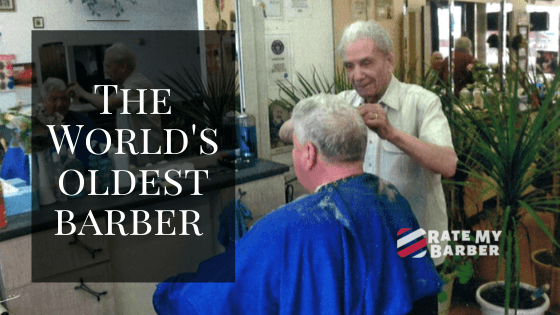 Anthоnу Mancinelli – The World's oldest barber was cutting hair at 108 years